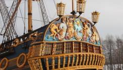 Корабль-музей Гото Предестинация (Воронеж, Адмиралтейская площадь)