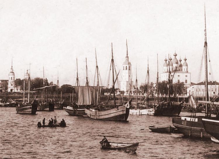 11_Архангельск, конец XIX в. Фото Лейцингер.