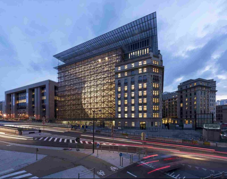 Штаб-квартира Европейского совета и Совета Европейского союза в Брюсселе-Источник-HQroom